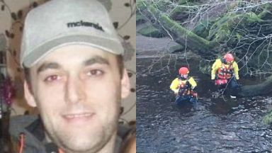 Lee Brown: Police searching rivers and gardens. Missing man high risk