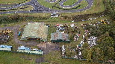 Lockerbie Pan Am 103 wreckage Tattershall scrapyard