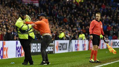 Rangers fan Villarreal