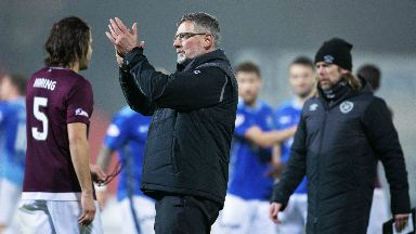 Questions: Levein doesn't understand penalty award.