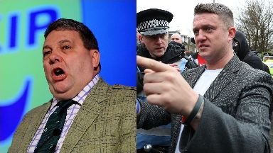 David Coburn: He hit out at Tommy Robinson's appointment. Ukip