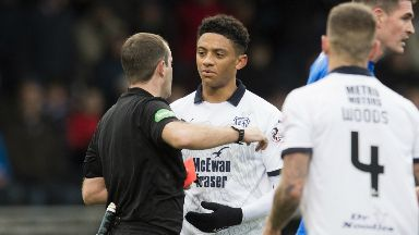 Appeal: Dundee believe sending off was wrong.