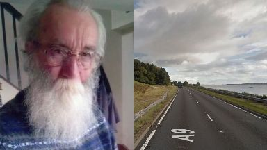 Accident: Charles Thomson died in a crash on the A9.