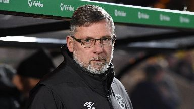 Levein said Hearts' performance was unacceptable.
