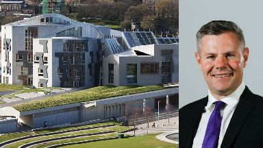 Derek Mackay and Holyrood