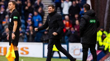 Rangers moved up to the top of the league.