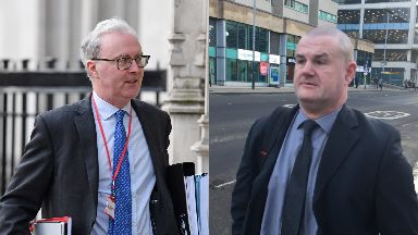Evidence row: Lord Advocate James Wolffe QC believes PC Robert Brown should not be allowed to use the paperwork.