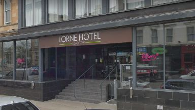 Lorne Hotel: Investigations carried out. Glasgow  Sauchiehall Street