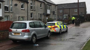 Death: The woman's body was discovered in a house in Biggar.