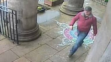 CCTV of man sought over Hindu Mandir centre robbery, November 2018