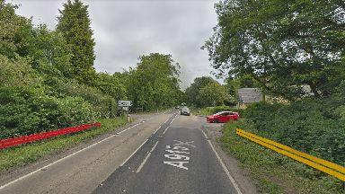 A915 near Kirkcaldy