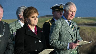 Nicola Sturgeon Prince Charles Iolaire service January 2019 DO NOT REUSE