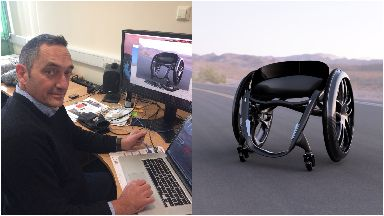 Andrew Slorance innovative smart wheelchair design