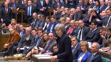 Prime Minister Theresa May speaks at the conclusion of the debate ahead of a vote on her Brexit deal in the House of Commons, London.