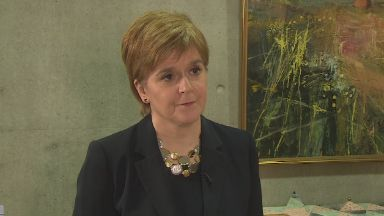 Nicola Sturgeon: Theresa May's defeat is of 'literally historic proportions'.