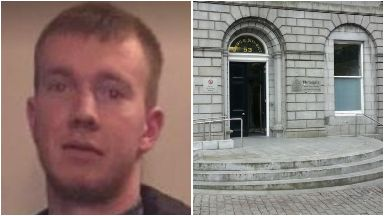 Jed Duncan, absconded from outside Aberdeen Sheriff Court