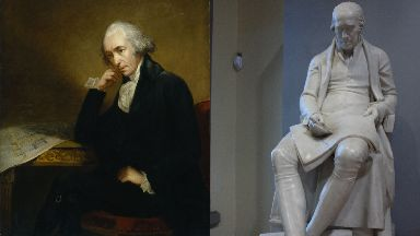 Celebrated: Scots engineer James Watt.