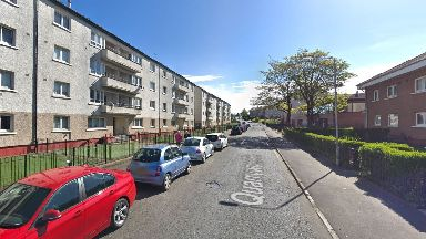 Glasgow: Police were called to Quarrywood Road.