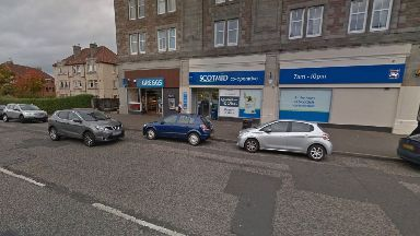 Edinburgh: The victim was targeted outside the Scotmid store.