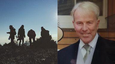 Missing: Allan Burns was last seen on Friday.