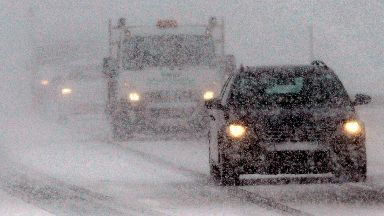 Snow: Travel disruption is expected by the weather.