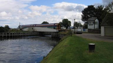 Discovery: Searches were carried out before he was found dead.  Caledonian Canal in Inverness