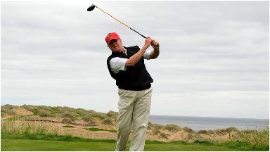 Donald Trump Aberdeenshire