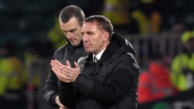 Rodgers saw his side defeat St Mirren 4-0.