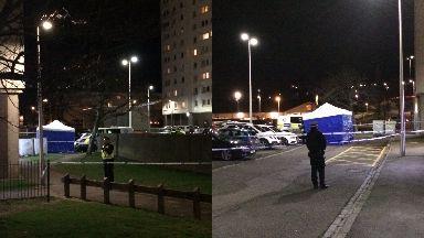 Death: Adamson Court, Dundee.