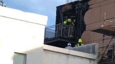 Granton: Seven appliances have been called. Fire Edinburgh