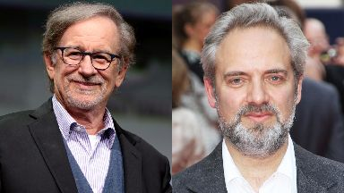Steven Spielberg and Sam Mendes