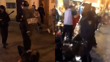 Celtic: Fans were arrested in the city. Valencia