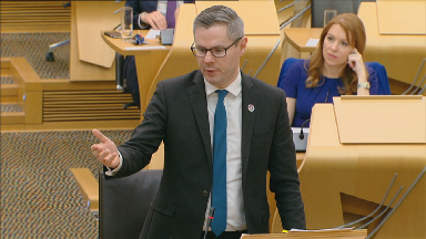 Derek Mackay Scottish Budget February 21 2019.
