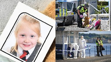 Alesha MacPhail: Her school have paid tribute. Bute Murdered