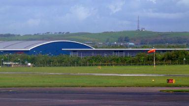 Prestwick: The plane's engine failed. Prestwick Airport