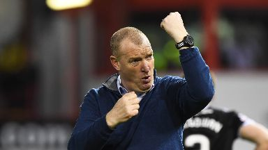 Rice's side stunned Aberdeen at Pittodrie.