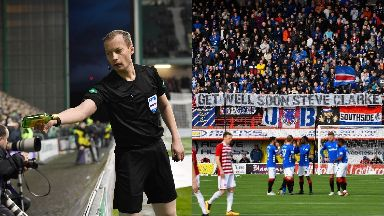 Abuse: A series of incidents have occurred. Football Scottish Premiership