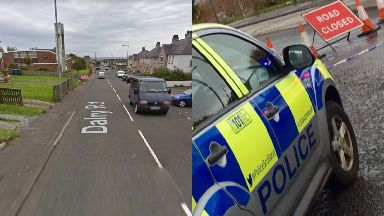 Saltcoats: The child suffered a serious head injury. Dalry Road