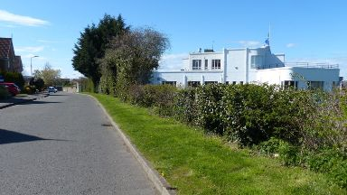 Attack: Behind Musselburgh Golf Club.