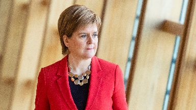 Nicola Sturgeon: May has shown 'no leadership whatsoever' (file pic).