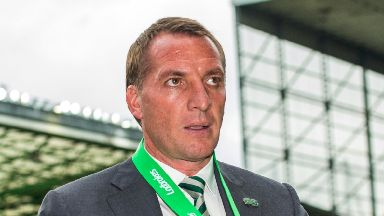 Brendan Rodgers: His house was ransacked.