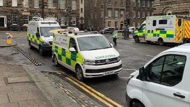 Princes Street suspicious package March 2019