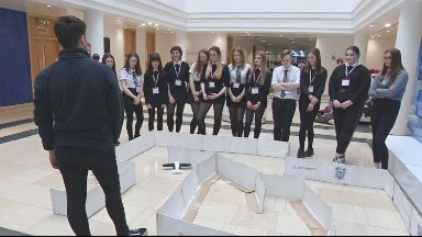 Pupils from Woodmill High School, Fife develop aircraft