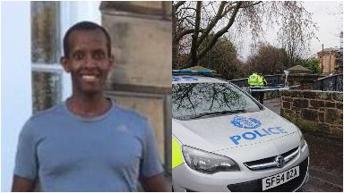 Murder enquiry launched following death of Lionel Simenya, near Slaughton Park, Edinburgh