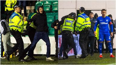 Tavenier incident Hibs Rangers March 2019