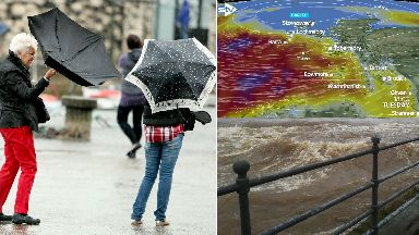 Storm Gareth: Weather warnings issued.