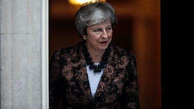 Theresa May file pic.