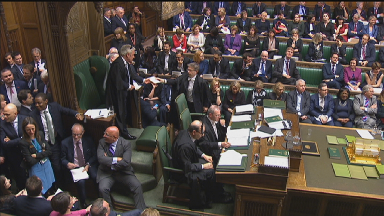 MPs vote on Article 50 extension on March 14 2019.