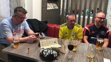 Scotland fans Kazakhstan March 2019