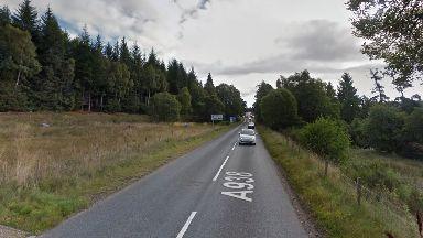A938 near Dulnain Bridge